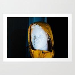 Mannequin in Da Nang Art Print