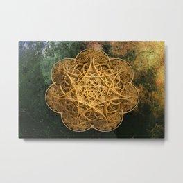 Celtic Gold Metal Print