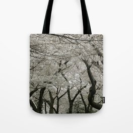 """""""Crab Apple and Sakura"""" Tote Bag"""
