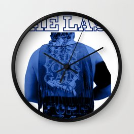George South - The Last Rassler Wall Clock