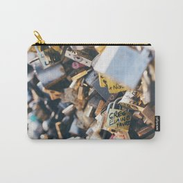 Love Locks in Paris Carry-All Pouch