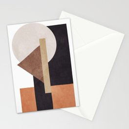 Abstract Geometric Art 10 Stationery Cards