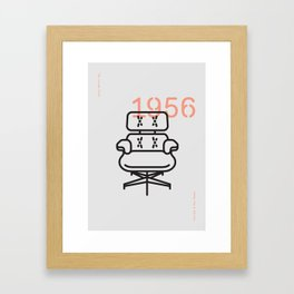 The Lounge Chair Framed Art Print