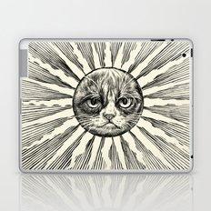 Grumpy Face in Sun Laptop & iPad Skin