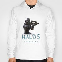 guardians Hoodies featuring Halo5 Guardians by giftstore2u