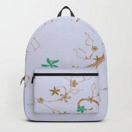 Chrome flowers Backpack