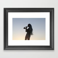 The World Is Your Stage Framed Art Print