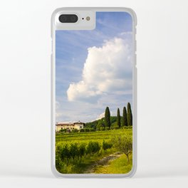 Sunset in the vineyards of Rosazzo Clear iPhone Case