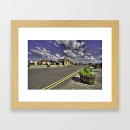 Minehead Station  Framed Art Print