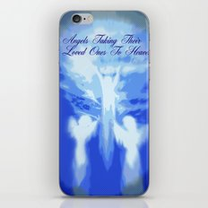 ANGELS TAKING THEIR LOVED ONES TO HEAVEN iPhone & iPod Skin