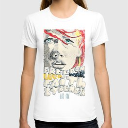 Leeloo Dallas portrait T-shirt