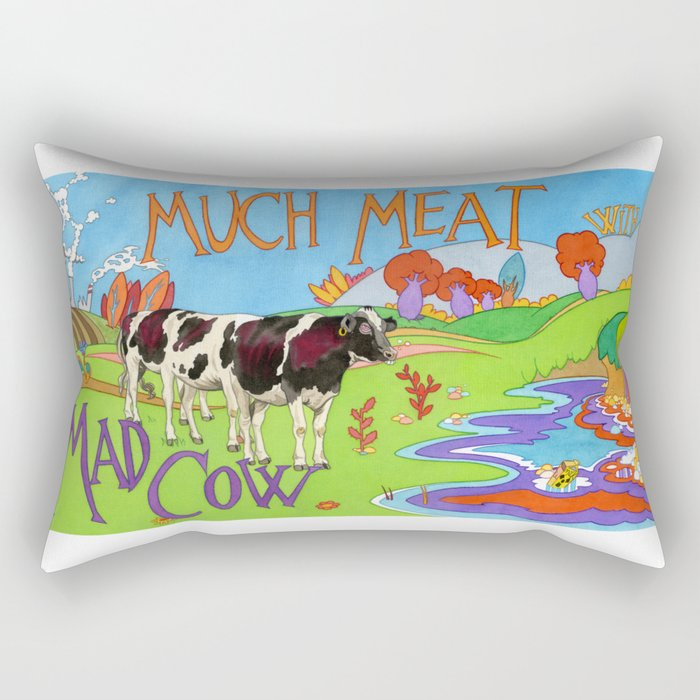 MAD COW Rectangular Pillow