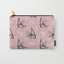Cosmic Tulips on Pink Carry-All Pouch