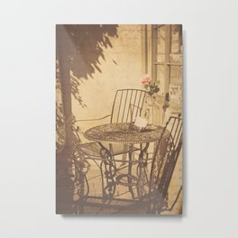 Parisian Chic Metal Print