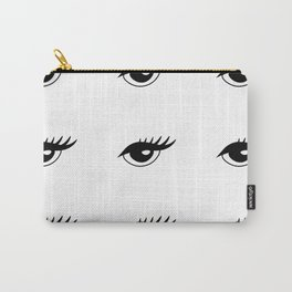 DOT. Eyes On You - Classic Open Eye With Eyeliner Carry-All Pouch