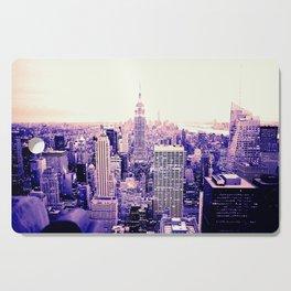 Lavender New York Cutting Board