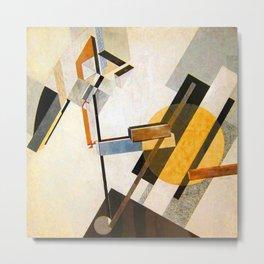 El Lissitzky Proun 19D Metal Print