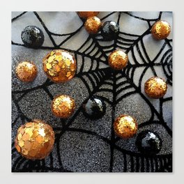 Halloween Glamour Canvas Print