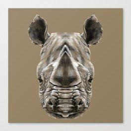 Rhino Sym Canvas Print
