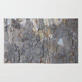 brown sycamore bark Rug