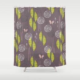 Butterflies are mod Shower Curtain