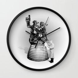 Rocket Scientist Wall Clock