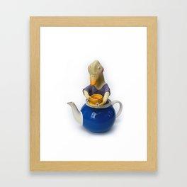 TEA TIME 4 Framed Art Print