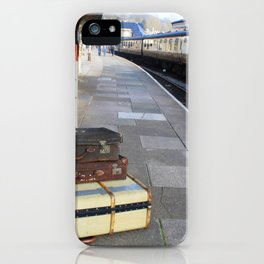 Cases At The Old Railway Station iPhone Case