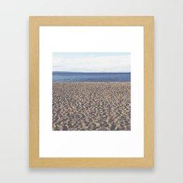 Alki Beach on Puget Sound Framed Art Print