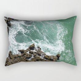 Green Ocean Atlantique Rectangular Pillow