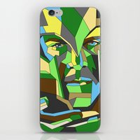 magneto iPhone & iPod Skins featuring Magneto by Liam Brazier