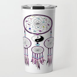 Yin-Yang dream catcher Travel Mug