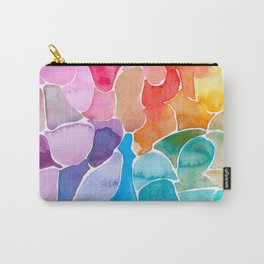Rainbow glass Carry-All Pouch