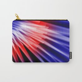Red blue abstract Carry-All Pouch