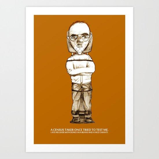 Lecter Art Print