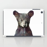 wildlife iPad Cases featuring Little Bear by Amy Hamilton