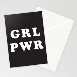 GRL PWR Stationery Cards