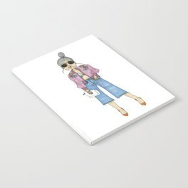 STYLISH GRANNY 5 Notebook