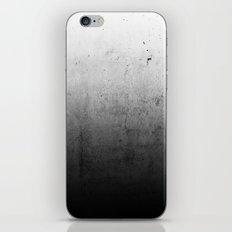 Black Ombre Concrete Texture iPhone & iPod Skin