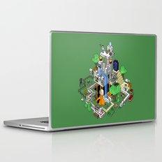 Minecraft World Laptop & iPad Skin