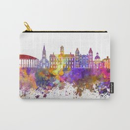 Athens - OH skyline in watercolor background Carry-All Pouch