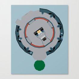 Enterprise main bridge Canvas Print