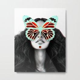 Bufly Metal Print