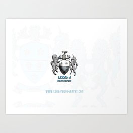 Lord J Logo Art Print