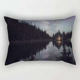 Reflection Of The Universe by OLena Art Rectangular Pillow