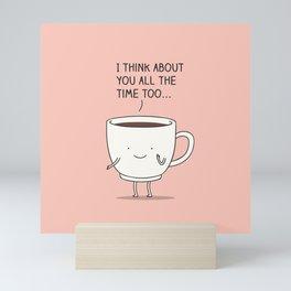 thinking of you... Mini Art Print