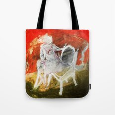 Woman & Chair Tote Bag