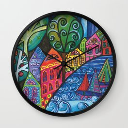 The Watershed Wall Clock