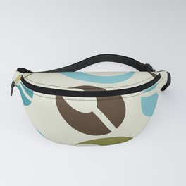 Mid-Century Modern Martini (teal) Fanny Pack