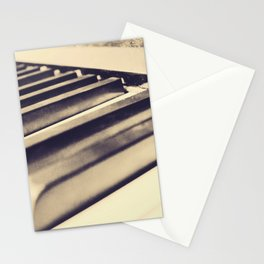Old Piano Keys Stationery Cards
